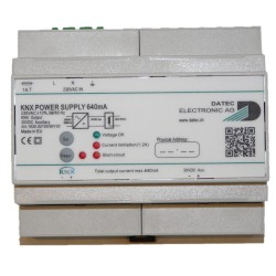 DATEC KNX Power supply 640mA