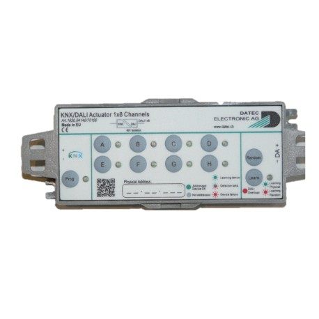 DATEC - KNX / DALI actuator 1x 8 channels