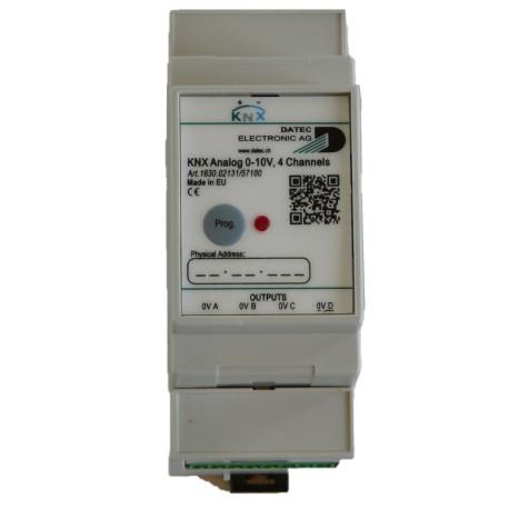 DATEC - Module analogique 0-10V - 4 sorties