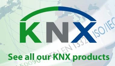 Nos produits KNX